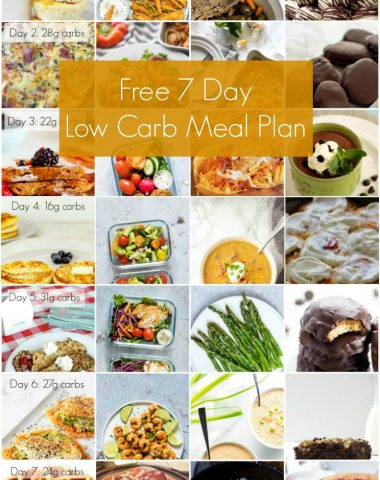 free 7 day keto meal plan