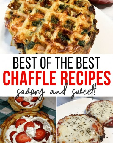 best chaffle recipes low carb