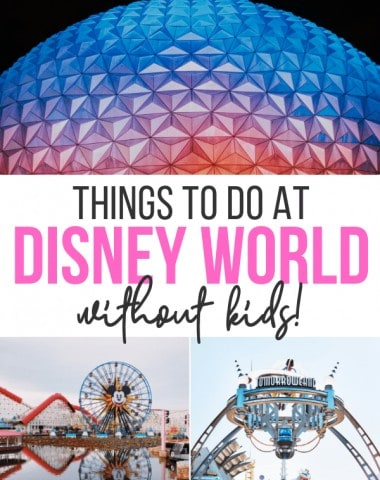 disney world without kids