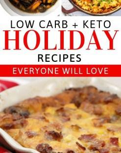low carb christmas recipes