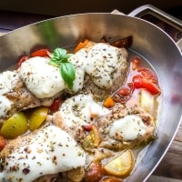 Mozzarella Chicken Low Carb