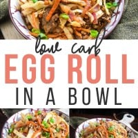 Low Carb Egg Roll Bowl Keto