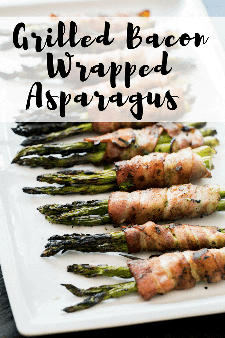 Keto Grilled Bacon Wrapped Asparagus Recipe