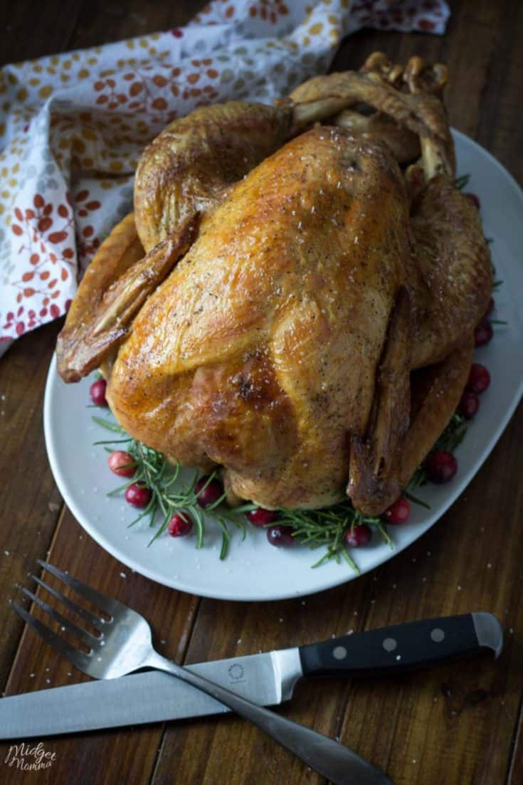 How to Cook a Turkey with a Dry Salt Brine