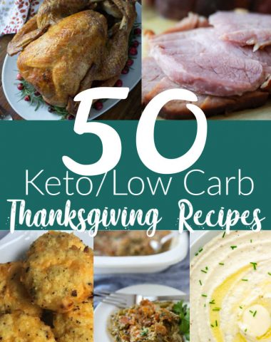 Keto & Low Carb Recipes for Thanksgiving