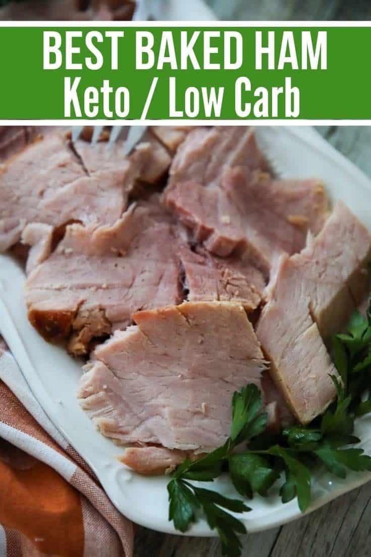 Baked Keto Ham Recipe with a Sugar-Free Glaze