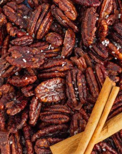 Sugar Free Candied Pecans Recipe