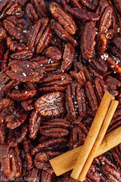 Sugar Free Candied Pecans Recipe