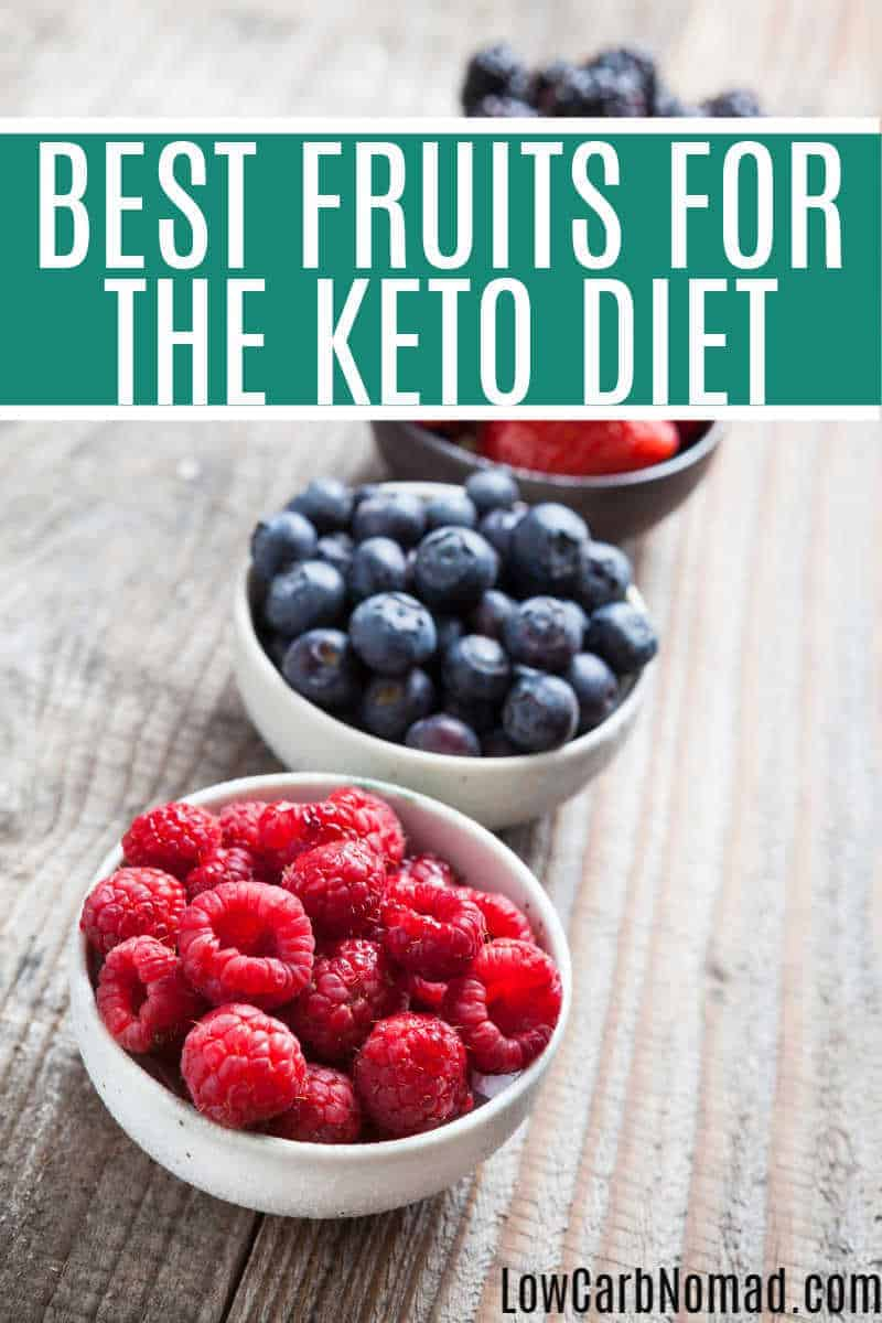 Best Fruits to eat on the Keto Diet. Use this list of the Best Fruits to eat on the Keto Diet to keep on track while you are on the Keto Diet.