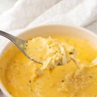 Keto Buffalo Chicken Soup