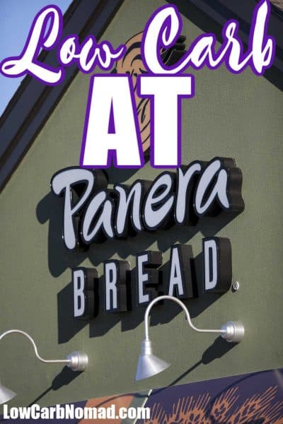 Low Carb at Panera Bread