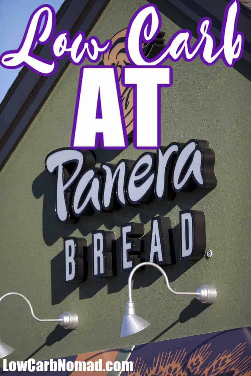 Low Carb at Panera Bread