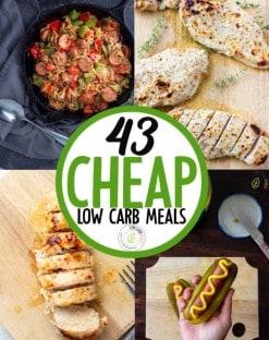 CHEAP LOW CARB MEALS