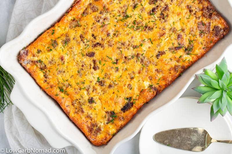 easy keto breakfast casserole