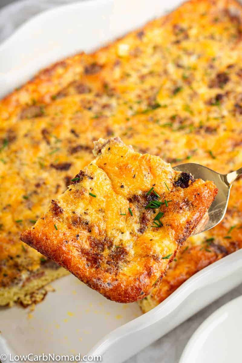 Low Carb Breakfast casserole