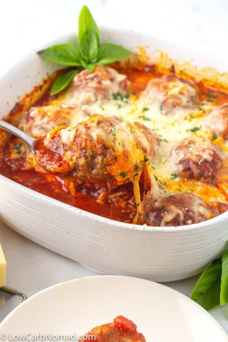 Easy Italian Meatball Casserole
