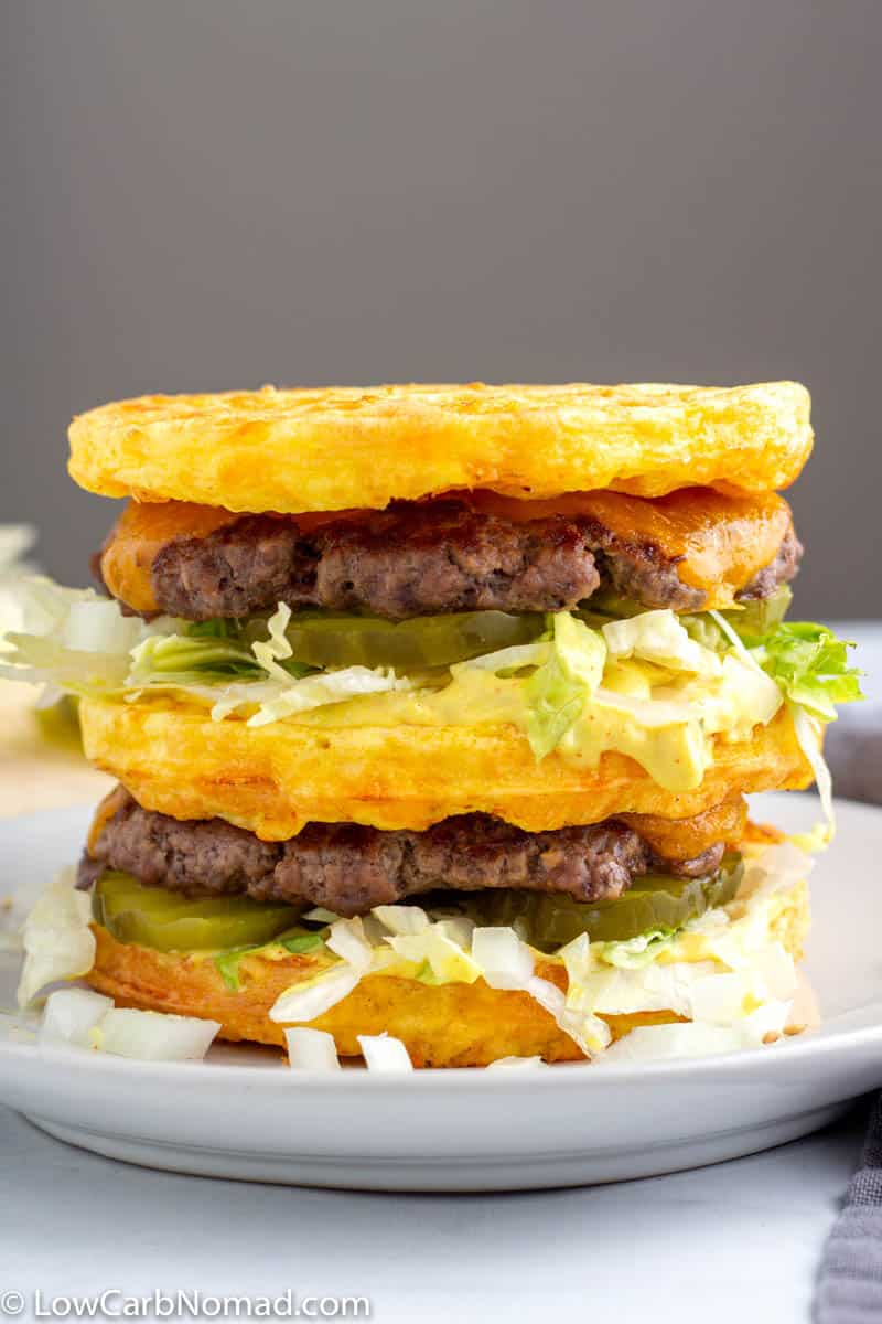 Big Mac Chaffle