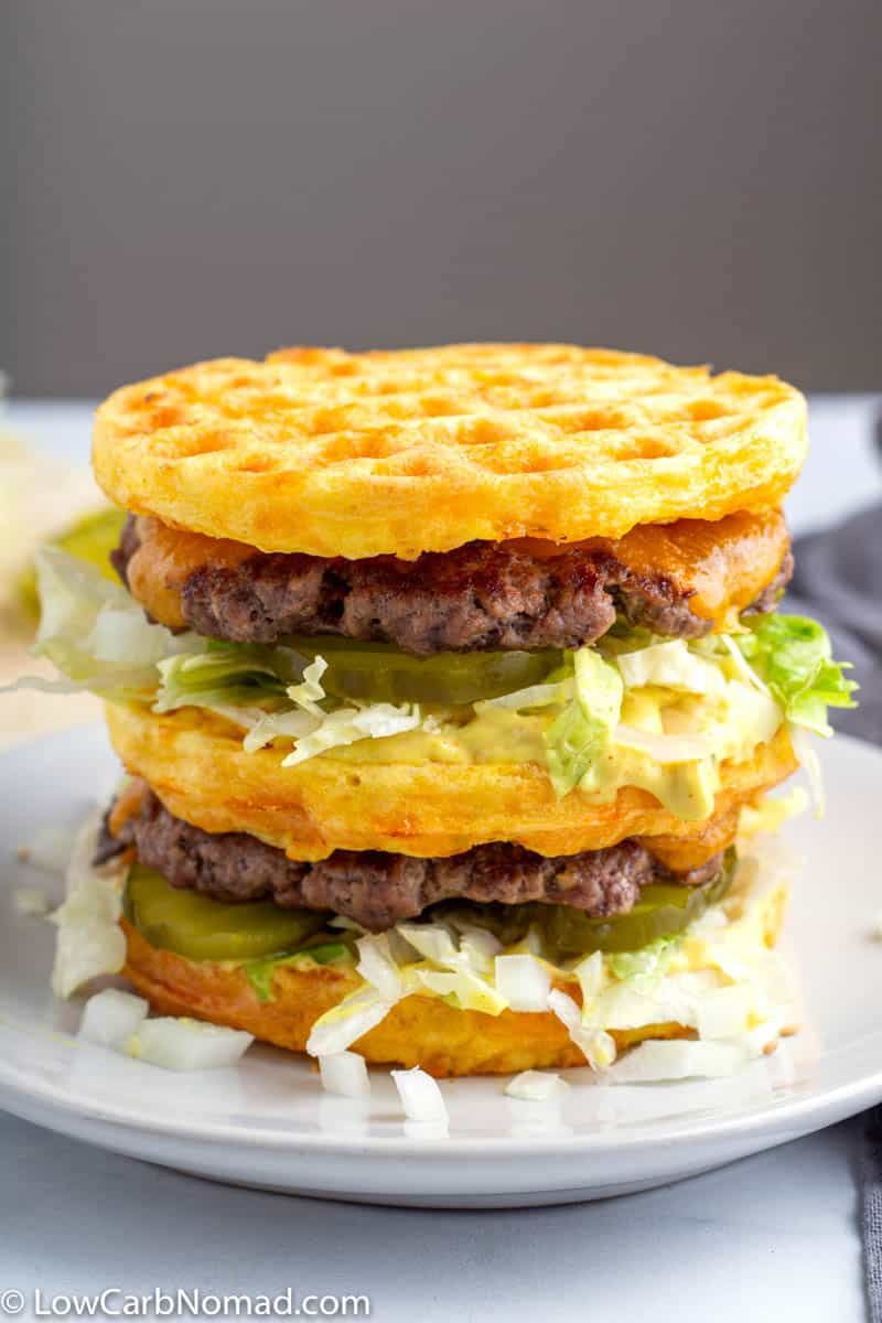 Keto Big Mac Burger Recipe
