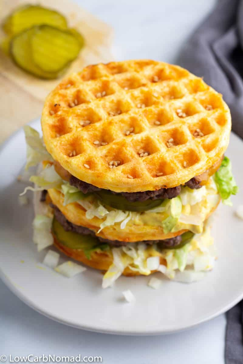 Keto Big Mac Burger
