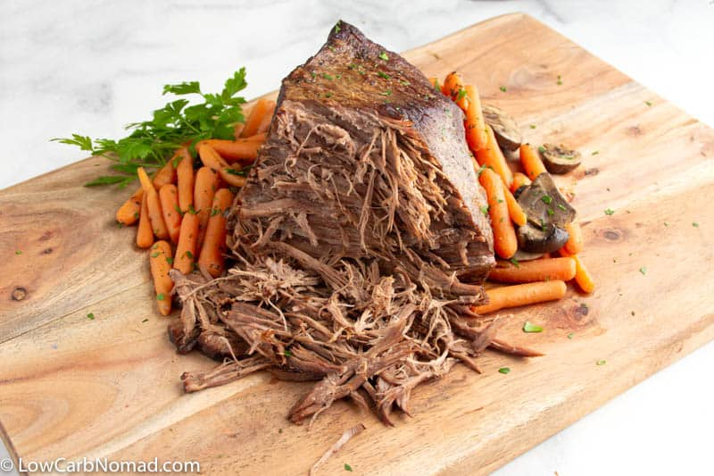 Juicy Pot roast right out of the cooker