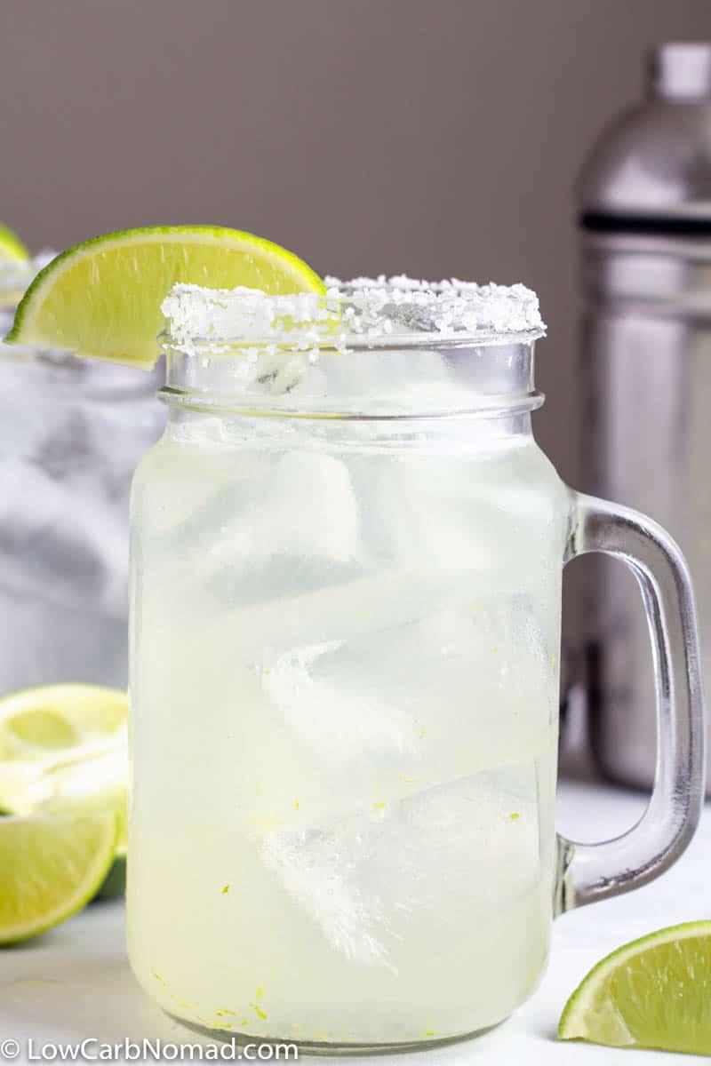 Low Carb Skinny Margarita Recipe