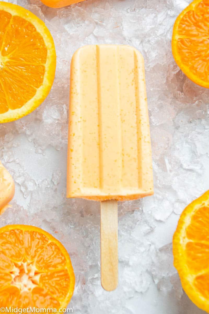 Creamsicle Keto Popsicle Recipe