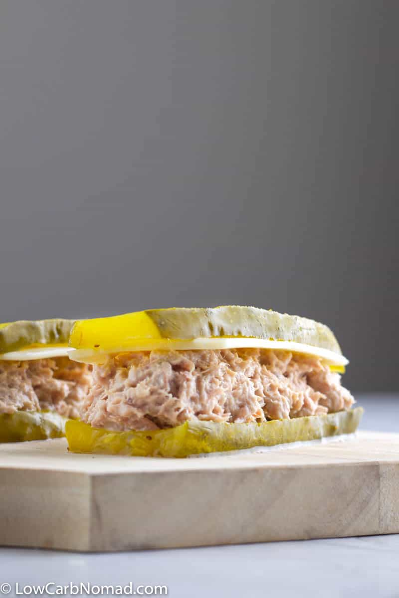 Pickle Tuna Sandwich