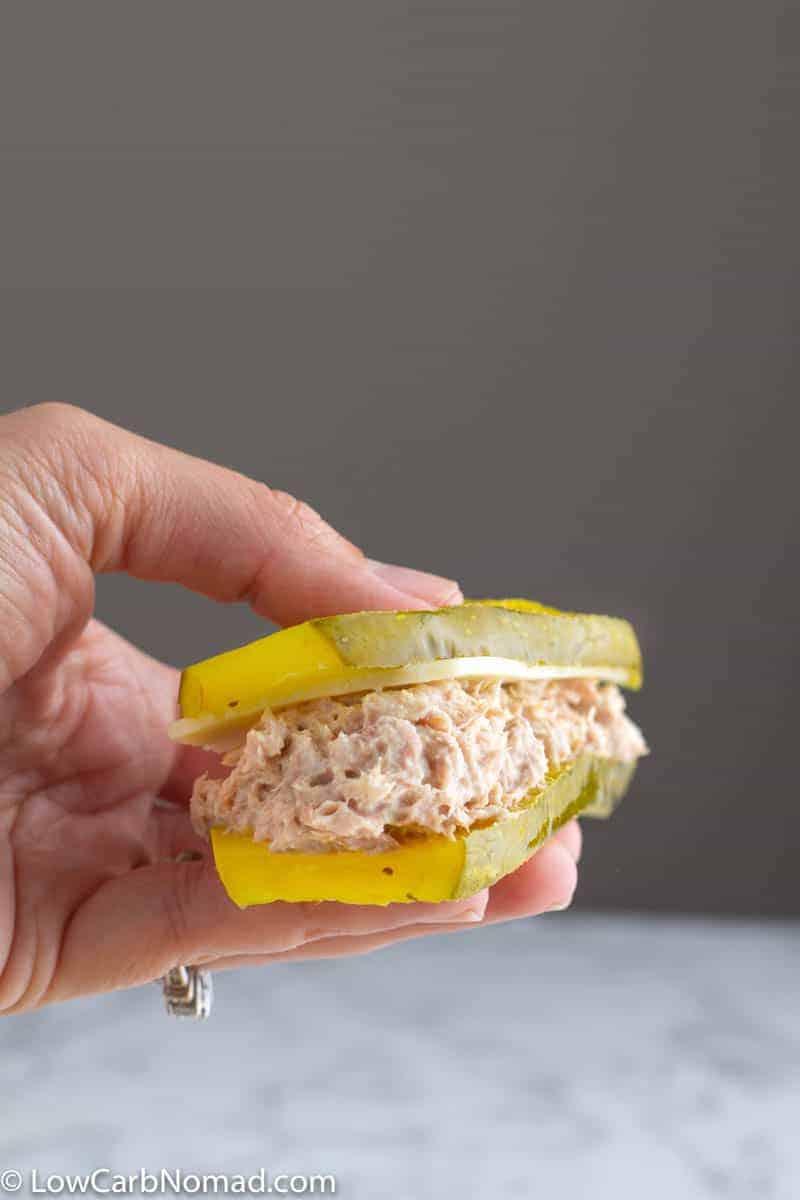 low carb tuna sandwich