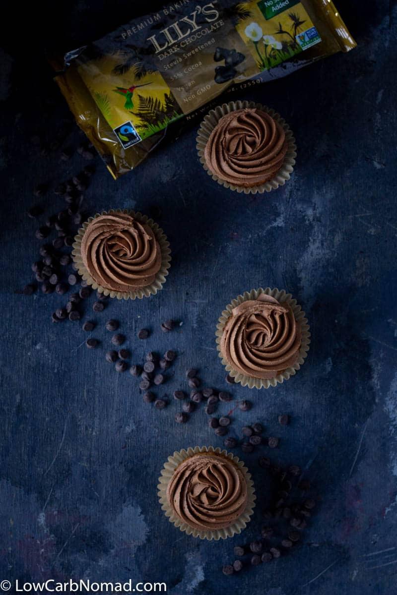 Low Carb Vanilla cupcakes