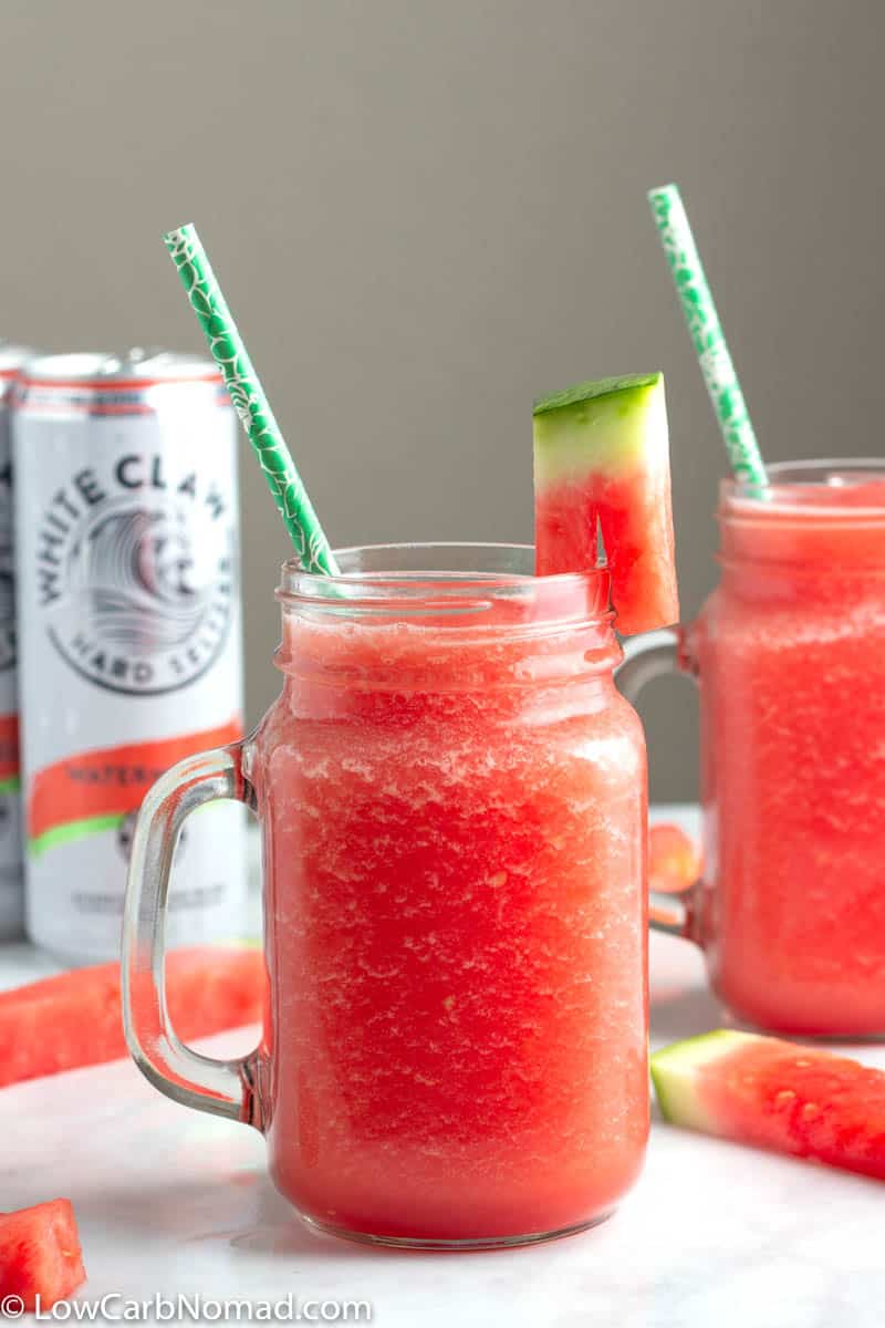 Watermelon White Claw Slushie