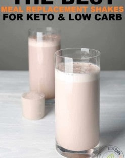 Best Meal Replacement Shakes for Keto