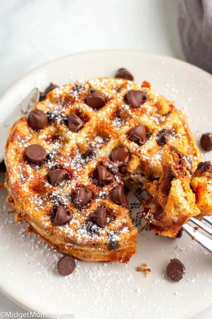 Quick & Easy Chocolate Chip Chaffles Recipe
