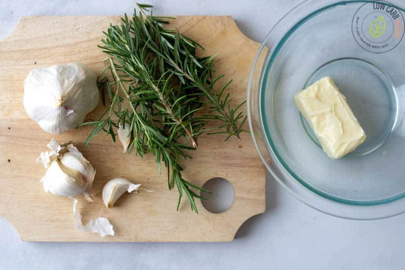 garlic rosemary butter ingredients
