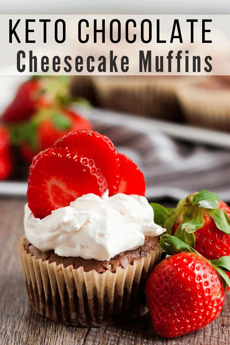 Keto Chocolate Cheesecake Muffins: Quick & Easy