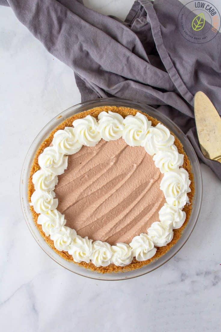 Keto Chocolate Mouse Pie