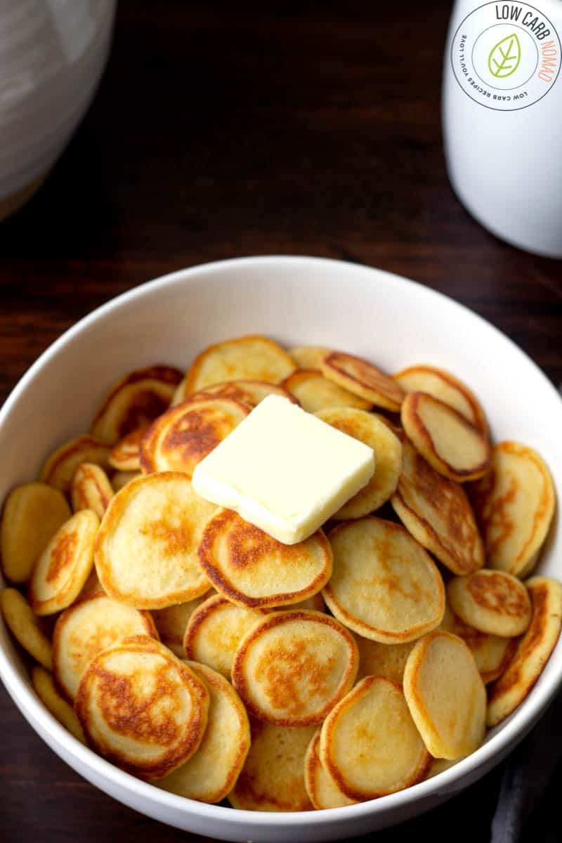 Keto Mini Pancakes Cereal