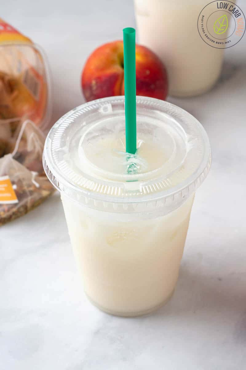 Keto Starbucks Copycat White Drink