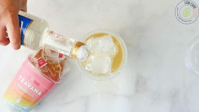 Starbucks Pina Colada Tea Infusion