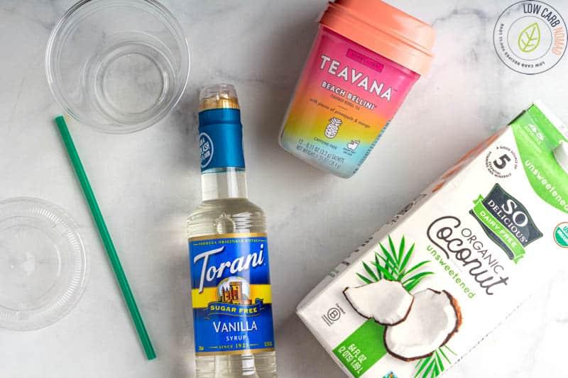 Starbucks Pina Colada Tea Infusion ingredients