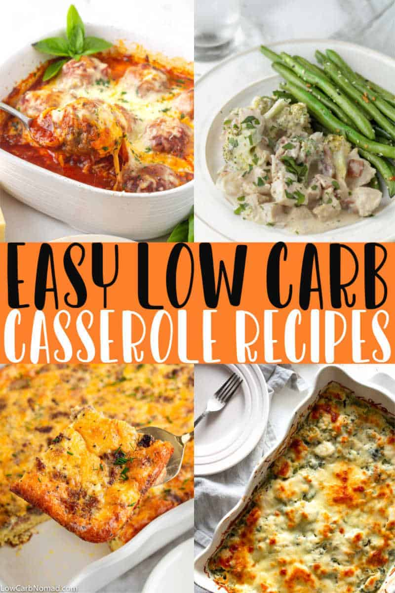 LOW CARB CASSEROLE RECIPE