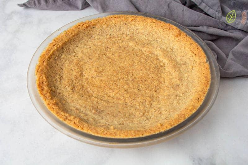 baked keto pie crust