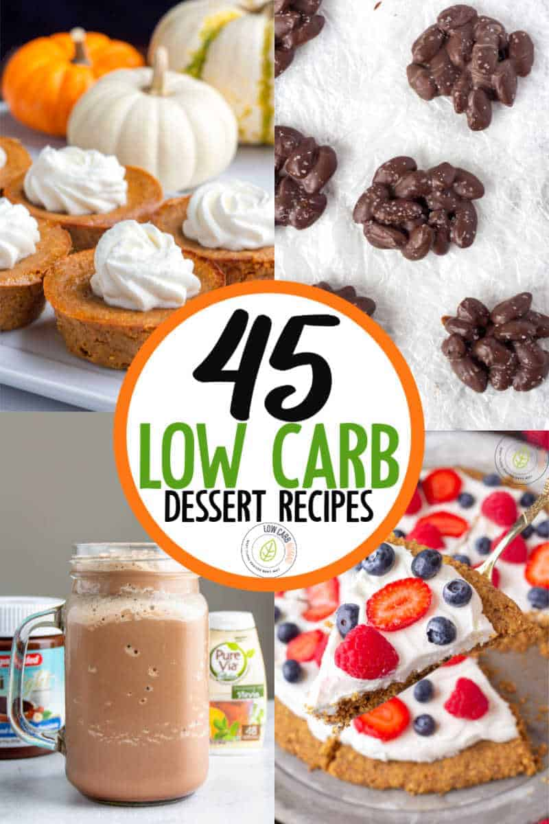 low carb dsessert recipes