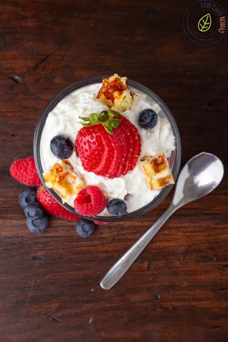 Keto Berry Trifle