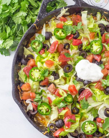 Cheesy Mexican Taco Skillet