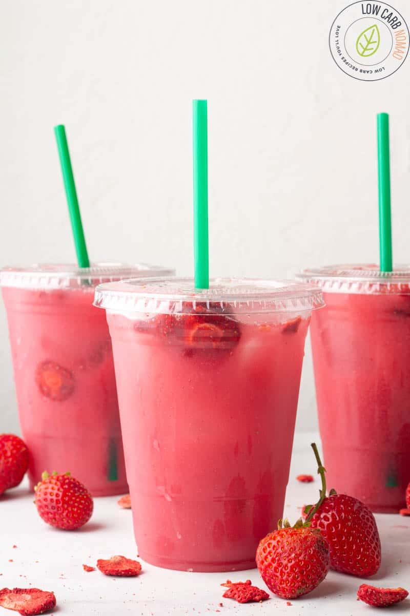 Starbucks Keto Pink Drink