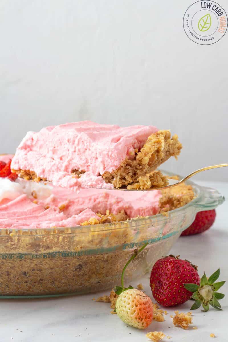 keto strawberry pie