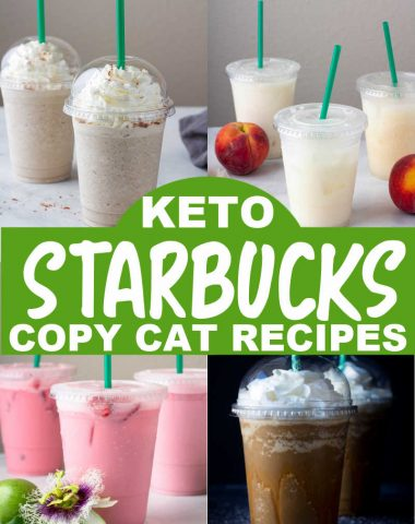 KETO STARBUCKS COPY CAT RECIPES