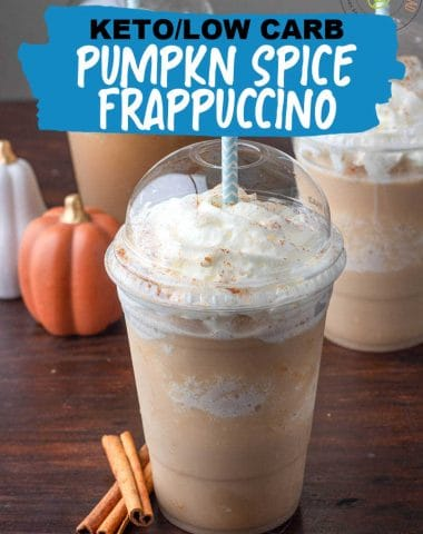 Low Carb Pumpkin Spice Frappuccino RECIPE
