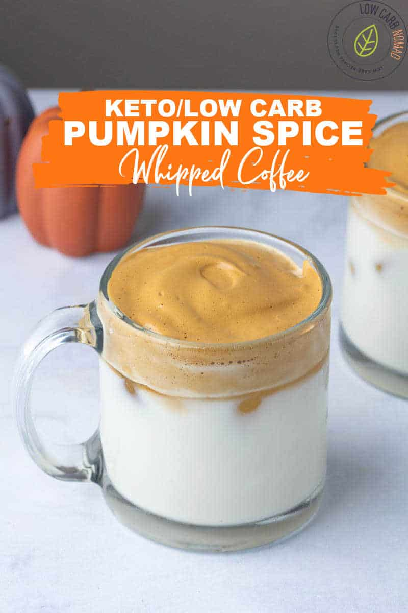 Low Carb Pumpkin Spice Whipped Coffee Recipe