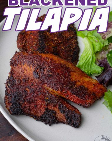 Blackened Tilapia recipe